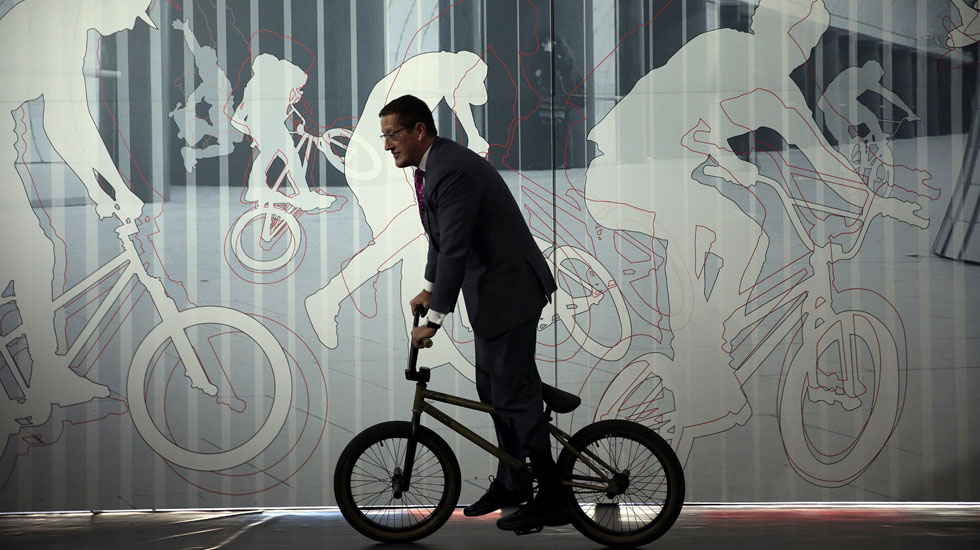 Una red de estacionamiento para bicicletas triunfa en Bicity.org