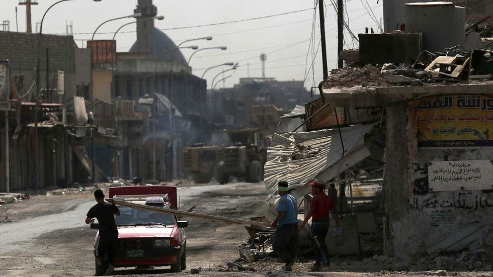 Los refugiados de Mosul empiezan a regresar a la ciudad