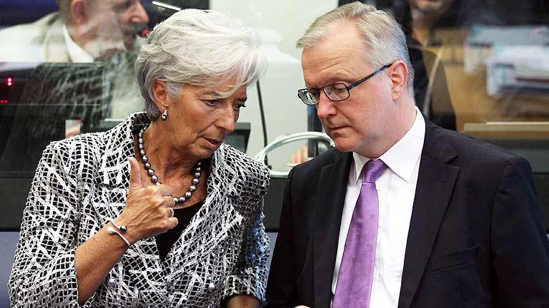Rehn: el objetivo es aprobar el memorando el próximo 9 de julio