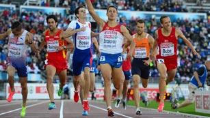 Reina se queda sin premio en los 800 metros