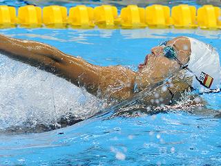 El relevo 4x100 estilos, récord de España