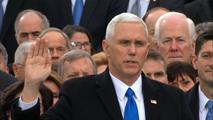 El republicano Michael Pence jura como vicepresidente de los EE.UU.