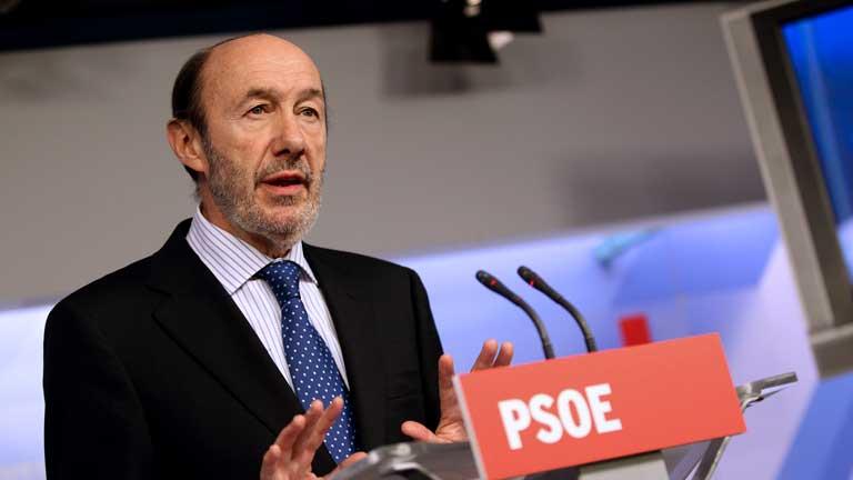 """Rubalcaba: """"El rescate es una mala noticia"""""""