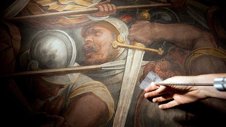 """El misterio de """"La batalla de Anghiari"""" cerca de resolverse"""