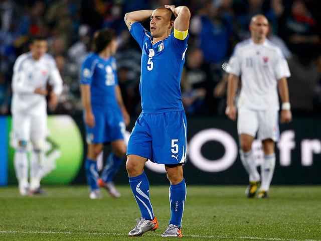 Resumen del Eslovaquia 3 - 2 Italia