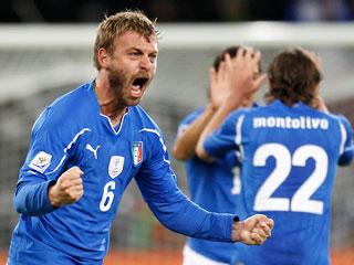 Resumen del Italia 1-1 Paraguay