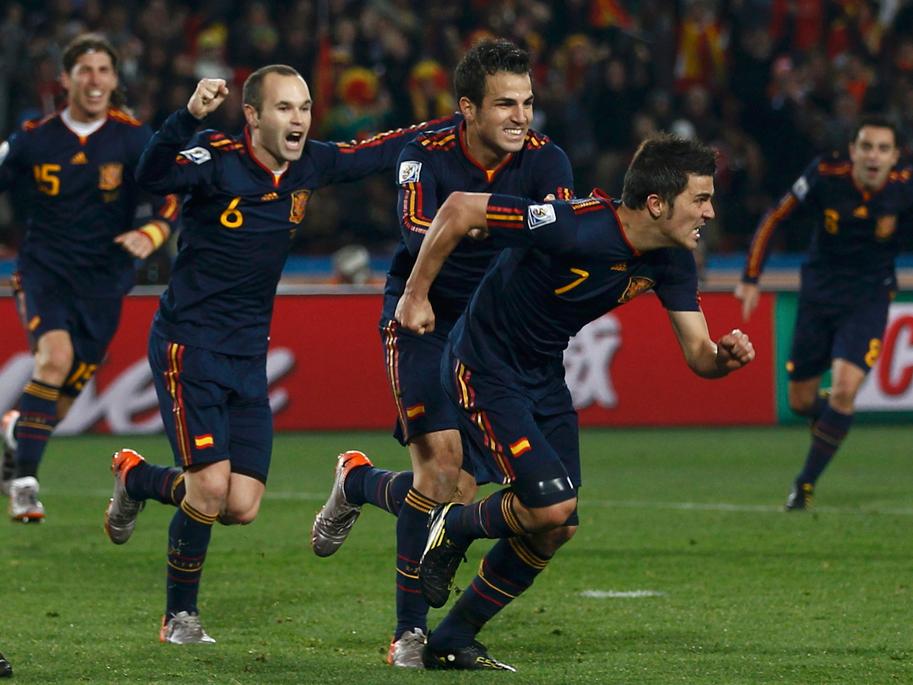 Resumen del Paraguay 0-1 España