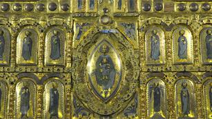 Mirar un cuadro - Retablo de San Miguel de Aralar