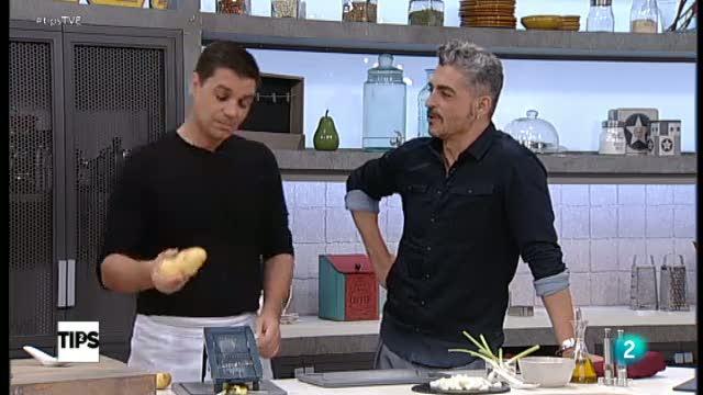 Tips - La cocina de Sergio: el reto: patatas paja con bacalao