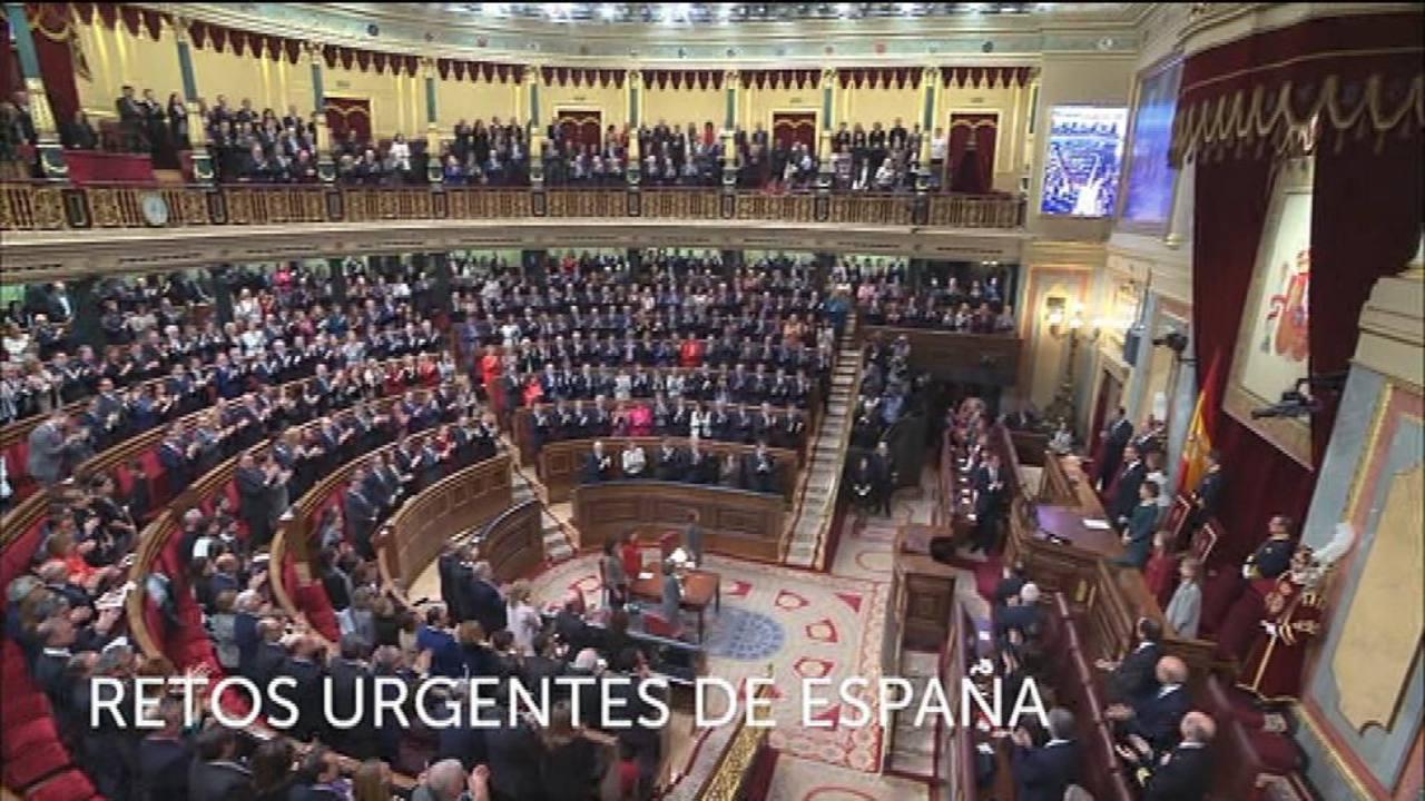 Retos urgentes de España