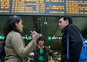 Retrasos en Atocha por la huelga en Renfe