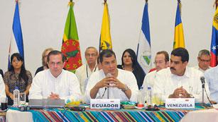 Reunión del Alba y Unasur para apoyar a Ecuador en el pulso con Reino Unido por Assange
