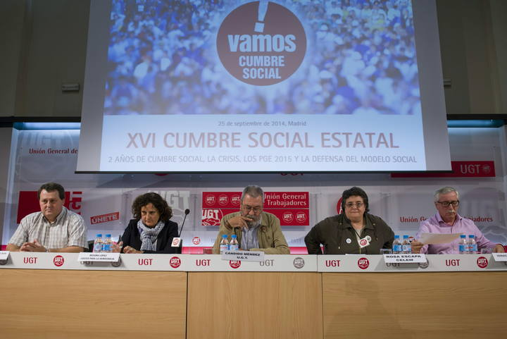 REUNION DEL XVI PLENARIO DE LA CUMBRE SOCIAL.