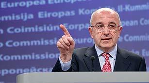 Rajoy y Almunia abordarán el rescate a la banca y la crisis del euro este viernes en la Moncloa