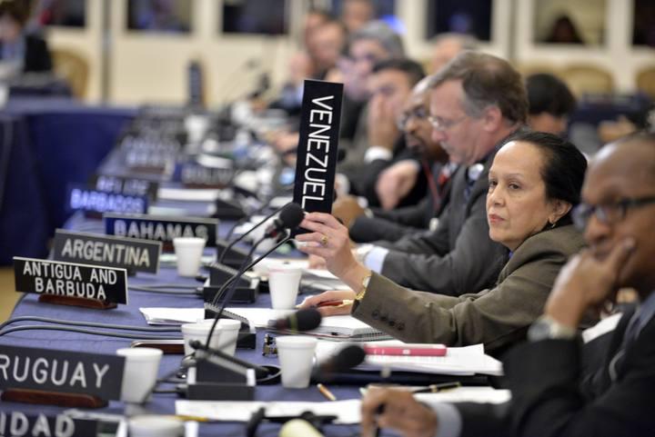 Reunión especial del Consejo Permanente de la Organización de Estados Americanos celebrada en Washington