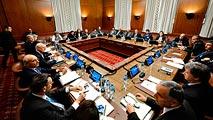 Ir al VideoReunión en Ginebra del mediador de la ONU con los representantes de la oposición de Siria