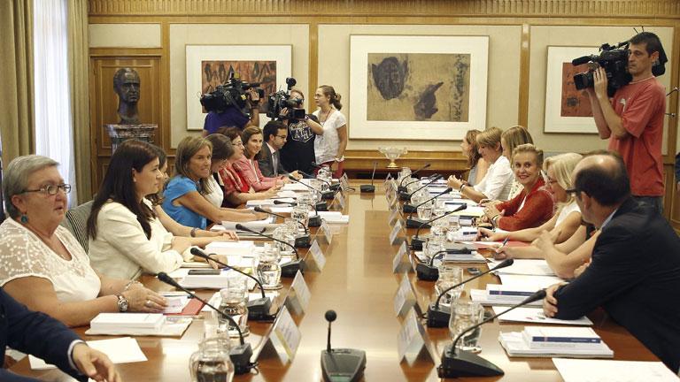 Todos los grupos parlamentarios coinciden en que hay que proteger más a las víctimas de la violencia de género