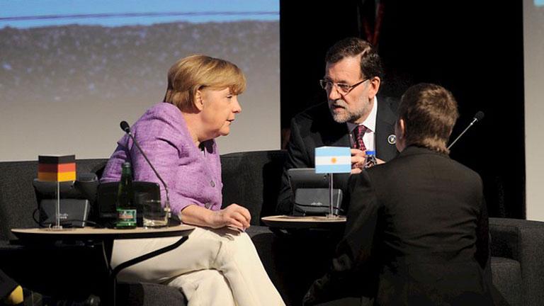 Rajoy se reúne con Merkel en la última sesión de la cumbre en Chile