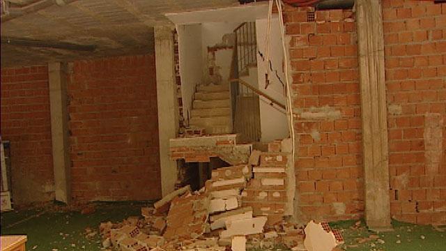 Con más de la mitad de viviendas revisadas, el 10% tienen daños estructurales