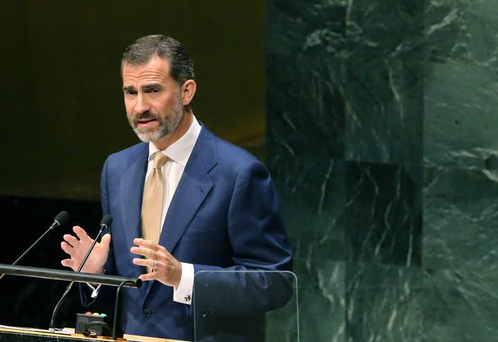 EL REY FELIPE INTERVIENE EN LA ASAMBLEA GENERAL DE LA ONU