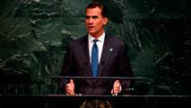 """Ir al VideoEl rey Felipe pide ante la ONU perfeccionar el modelo de crecimiento """"eliminando sus excesos"""""""