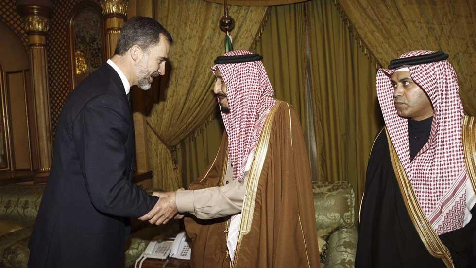 El rey Felipe VI ha viajado a Arabia Saudí por la muerte del rey Abdalá