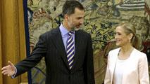 Ir al VideoEl rey recibe a Cifuentes y Carmena, que le han explicado sus proyectos políticos