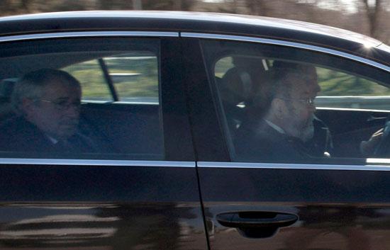 Su Majestad el Rey Juan Carlos recibe juntos a los líderes sindicales