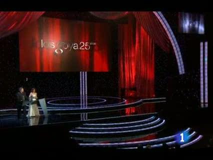 Reyes Abades y Ferrán Piquer Goya 2011 a los Mejores Efectos Especiales por 'Balada triste de trompeta'