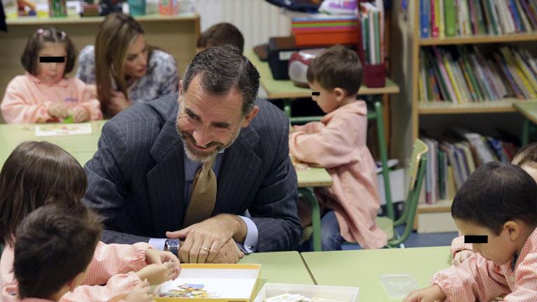 Los reyes instan a mejorar el sistema educativo en la inauguración del curso escolar en Ourense