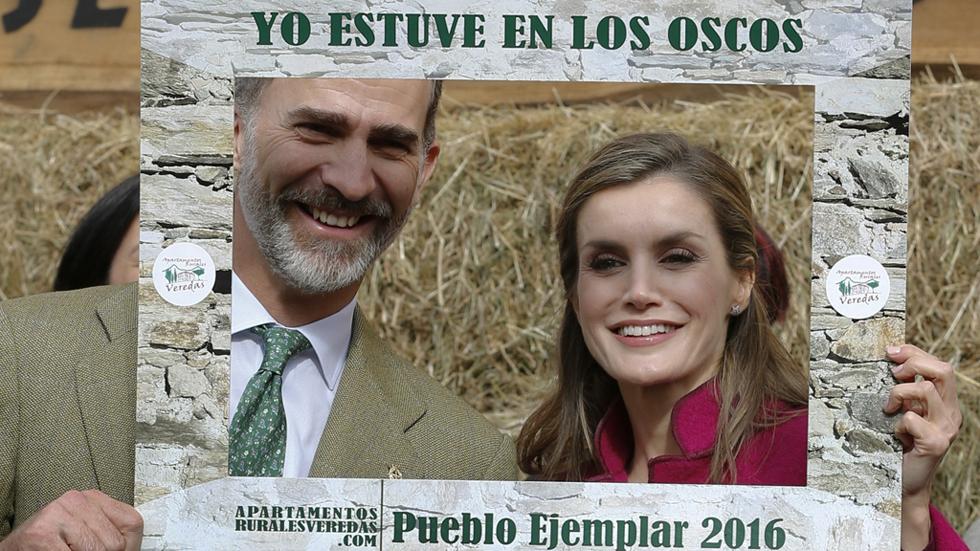 Los reyes visitan la Comarca de los Oscos, Premio Pueblo Ejemplar 2016