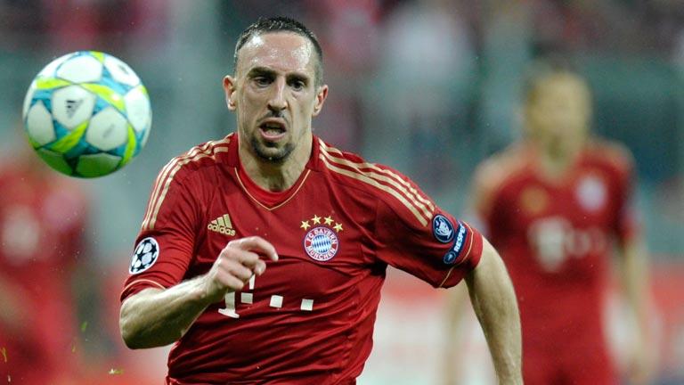 Ribery, alma del Bayern ante el Olympique