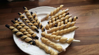 Aquí la Tierra-Ricos dulces ¡con varas de cardos!