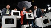 Ir al VideoRigau y Ortega niegan que desobedecieran al Constitucional y defienden que el 9N lo organizaron voluntarios