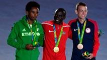 Río 2016. Clausura | Entrega de medallas de la maratón