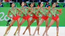 Río 2016   Gimnasia rítmica. Rutina aros y mazas