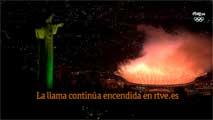 Río 2016 | La llama continúa encendida en rtve.es