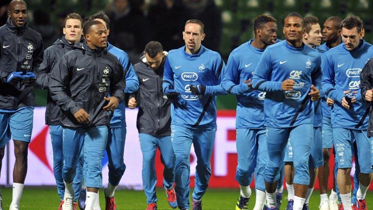 Los rivales en la Eurocopa se ponen a punto