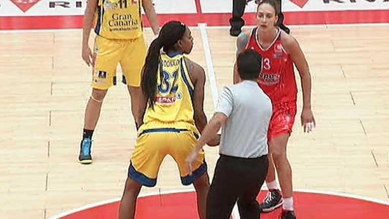 Baloncesto - Liga española femenina. 2ª jornada: Rivas Ecópolis - Gran Canaria 2014