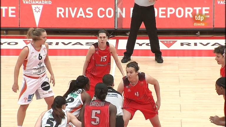Baloncesto: Liga femenina - Rivas Ecópolis - Caja Rural Tintos de Toro - 11/02/12