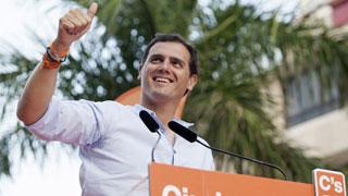 """Rivera quiere un Gobierno limpio que """"no tiemble"""" con chantajes de corruptos"""