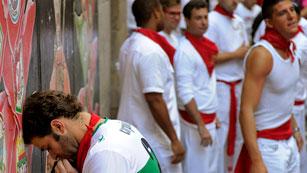 RNE te narra el séptimo encierro de San Fermín 2012 en imágenes