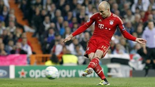 Robben empata la eliminatoria de penalti (2-1)