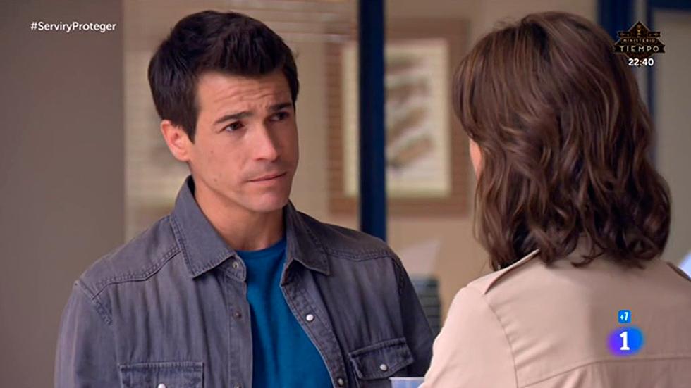 """Servir y proteger - Rober se disculpa con Alicia: """"Me comporté como un estúpido"""""""
