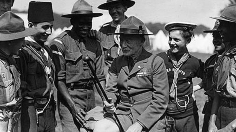 Robert Baden-Powell, fundador de los Scouts