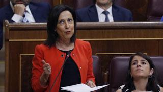 Robles, portavoz del grupo socialista, pide al Gobierno responsabilidades por la amnistía fiscal