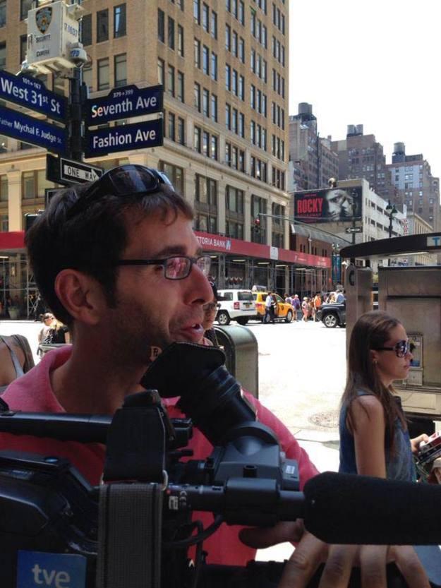 Rodaje de Poeta en Nueva York de Lorca