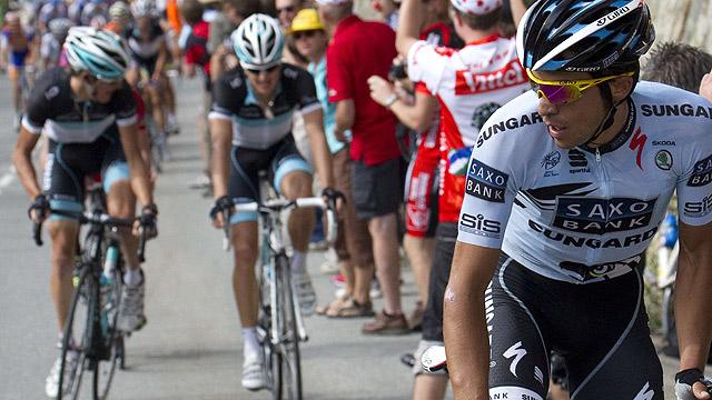 Rolland frustra la machada de Contador