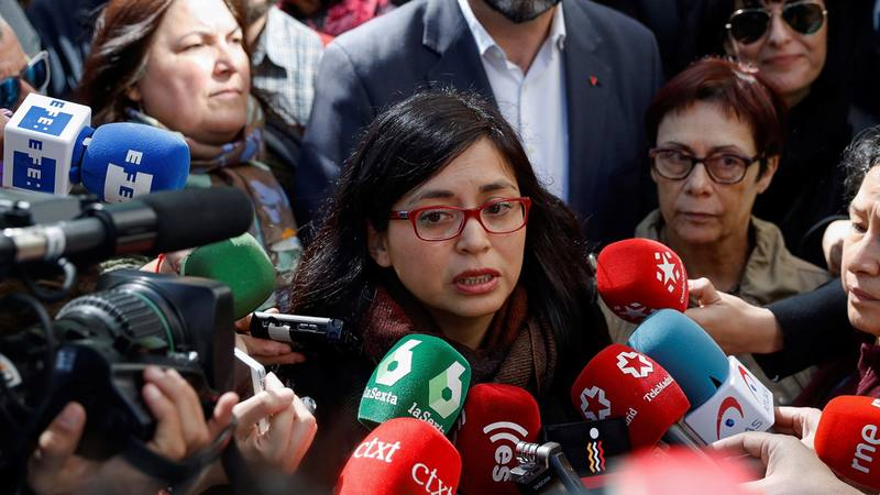 Rommy Arce declara por críticas sobre intervención policial en Lavapiés