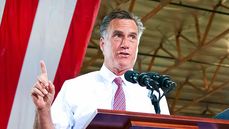 Romney se convie
